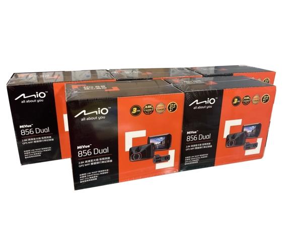 MIO 856 DUAL 【含安裝/送256G】2.8K/雙錄/STARVIS/GPS測速/60FPS/行車記錄器