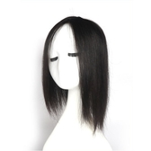 假髮片(真髮)-大面積遮蓋白髮35cm長直髮女假髮73vm56【時尚巴黎】
