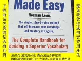 二手書博民逛書店【Word罕見Power Made Easy】文字力量變得簡單 Norman LewisY286158 Nor