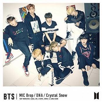BTS防彈少年團 MIC Drop/DNA/Crystal Snow CD附DVD 初回B盤 免運 (購潮8)