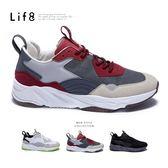 Life8-Casual 多層次拼接 颶風運動鞋【09906】