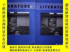 二手書博民逛書店MCDOUGAL罕見LITTELL LITERATURE 1-2