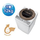 【SHARP夏普】12公斤無孔槽變頻洗衣機 ES-ASF12T