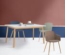 【歐雅系統家具】卡利寧餐椅-灰綠 / 北歐風 / 現成家具 / 椅子 / 多色選擇 / 莫蘭迪色