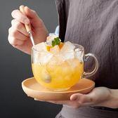 日式玻璃牛奶早餐杯創意大號燕麥片杯沙拉杯
