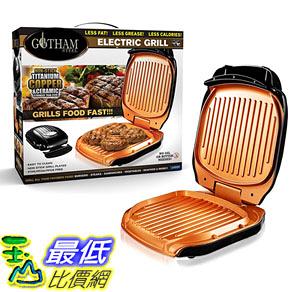 [8美國直購] 三明治燒烤 不沾鍋 Gotham Steel Low Fat Multipurpose Sandwich Grill with Nonstick Copper Coating