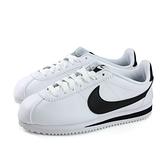 NIKE CLASSIC CORTEZ LEATHER  運動鞋 白色 女鞋 807471-101 no005