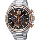 SEIKO精工 Prospex 太陽能大視窗計時手錶-咖啡/45mm V194-0AA0K(SSC664P1)