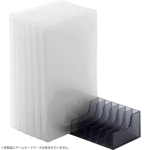 【玩樂小熊】現貨中 Switch周邊 NS 日本CYBER 12片 遊戲片 置放架 簡易式收納架 黑色款