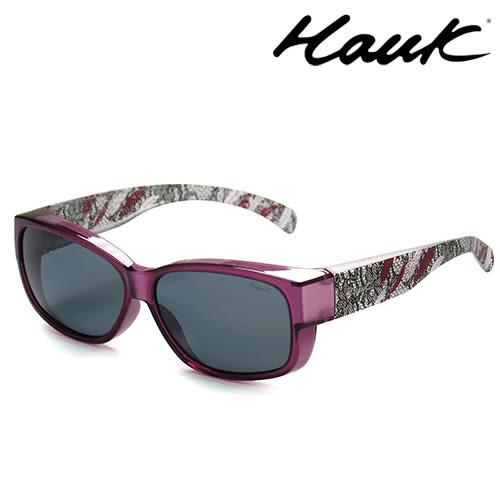 HAWK偏光太陽套鏡(眼鏡族專用)HK1004-85