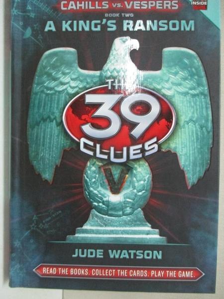 【書寶二手書T3/原文小說_GTJ】A King's Ransom_Watson, Jude