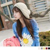 《ZA776》甜美俏皮~可愛大毛球造型貝雷帽/毛線帽‧5色 OrangeBear