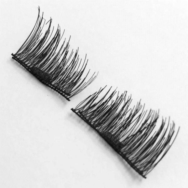 假睫毛 磁鐵假睫毛吸鐵石磁力免膠水眼毛04款棉線梗眼尾加長單磁 交換禮物