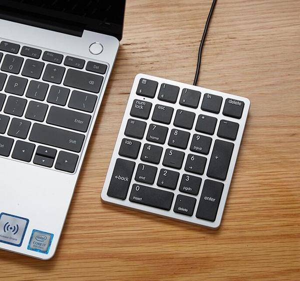 數字鍵盤 計算器快捷鍵靜音超薄迷你26鍵專業筆記本電腦外接數字小鍵盤【快速出貨八折鉅惠】