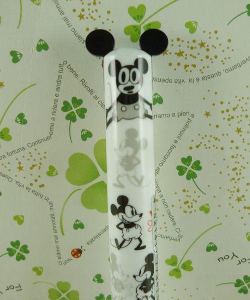 【震撼精品百貨】Micky Mouse_米奇/米妮 ~雙色筆-黑走