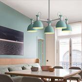 HONEY COMB 北歐風典雅餐吊燈 雙色款 5光源 鐵灰色 TA8277