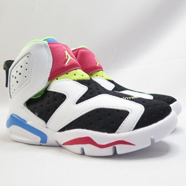 NIKE JORDAN 6 RETRO LITTLE FLEX 中童休閒鞋 CT4416103 白【iSport愛運動】