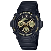 【CASIO】G-SHOCK 潮流專屬休閒錶-金(AW-591GBX-1A9)