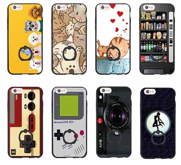 部落客推薦 iPhone 7 Plus i7 i7+ i6+ i6 i6S 6 6S 指環 手機殼 指環扣 指環支架 型 犀牛盾支架