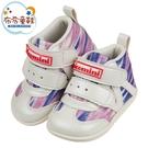 《布布童鞋》台灣製星光紫粉中筒寶寶機能學步鞋(13~15公分) [ Z1BG16F ]