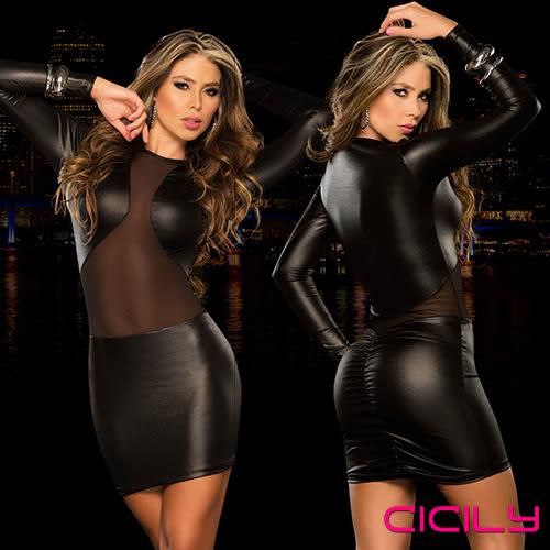情趣用品-滿額含滋潤液 情趣睡衣 百變嬌娃 性感美胸 性感彈力緊身裙 AD607
