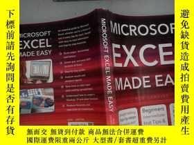 二手書博民逛書店Microsoft罕見Excel Made Easy (Computing Made Easy)-使Microso