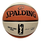 Spalding WNBA [SPA83877] 籃球 6號 女子 室外 橡膠 耐磨 室外 橘米