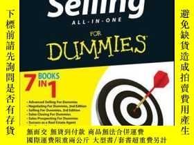 二手書博民逛書店Selling罕見All-in-One For DummiesY410016 Consumer Dummies