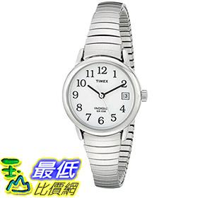[106美國直購] 手錶 Timex T2H371 Womens Easy Reader Date Expansion Band Watch