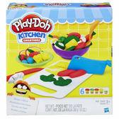 【愛吾兒】培樂多 Play-Doh 創意DIY黏土 廚房系列-切菜料理組