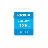 [富廉網]【KIOXIA】EXCERIA 128G SDXC UHS-I U1 C10 R100 記憶卡