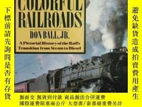 二手書博民逛書店B0026QY69C罕見Americas Colorful Railroads-B0026QY69C美洲彩色鐵路奇