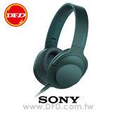 (預購)SONY MDR-100AAP (青鉻藍) 智慧型手機 線控 耳罩式耳機 支援 Hi-Res 音源 公司貨 內附原廠攜行袋
