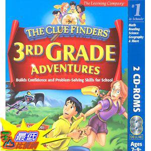 [美國直購 ShopUSA] ClueFinders 3rd Grade by The Learning Company $683