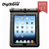 【2件85折+免運】DigiStone iPad 9.7吋平板電腦防水袋/保護套/可觸控(溫度計型)適9.7吋以下平板-黑x1P