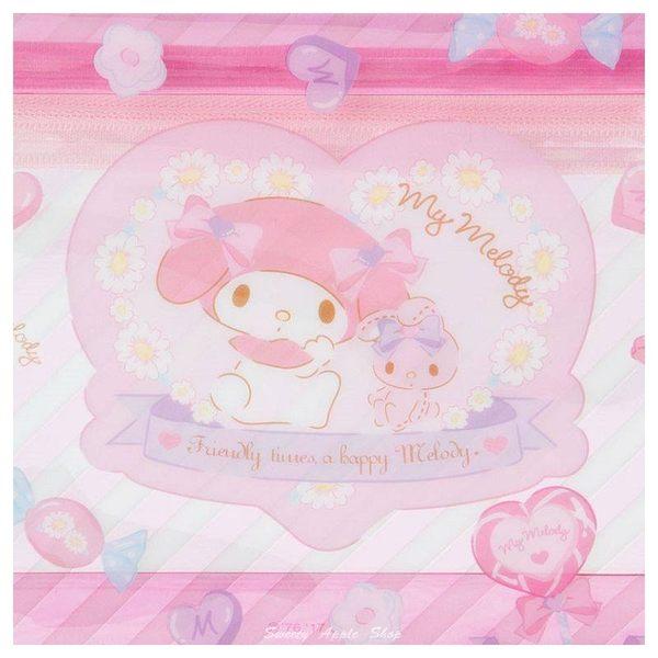 日本限定 美樂蒂 糖果版 筆袋/收納袋