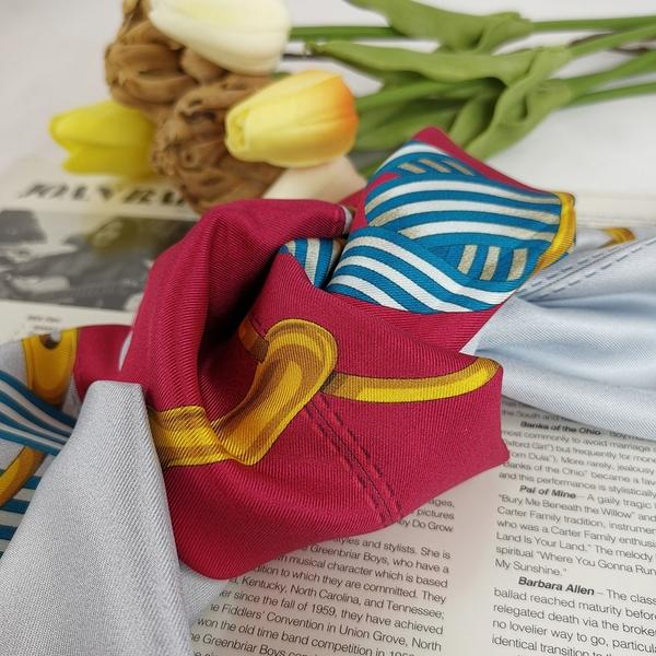 【雪曼國際精品】GUCCI 經典70CM X70CM 經典 正方絲巾 材質絲─全新品現貨