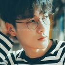 現貨-韓國ulzzang原宿復古新款韓版復古金屬眼鏡框潮流近視眼鏡架大黑方框男女眼鏡韓式流行鏡框