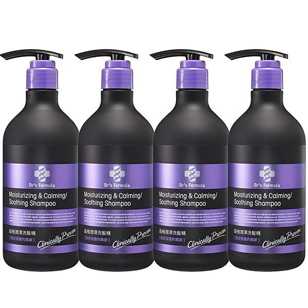 【南紡購物中心】《台塑生醫》Dr's Formula晶極潤澤洗髮精580g*4瓶