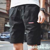 男士短褲夏天休閒沙灘褲夏季5分五分褲子男生潮流寬鬆大褲衩7七分