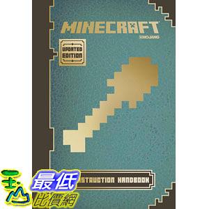 [104美國直購] 當個創世神 Minecraft: Construction Handbook (Updated Edition): An Official Mojang Book Hardcover