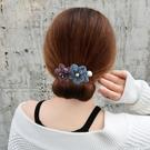 盤髪器 丸子頭盤髮器懶人編髮造型百變蓬松花苞頭扎頭髮飾韓國頭飾髮帶女
