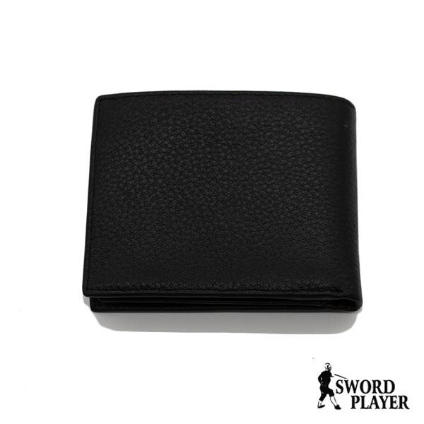 短夾含零錢口袋真皮男用皮夾SP-F3203 (SWORD PLAYER)