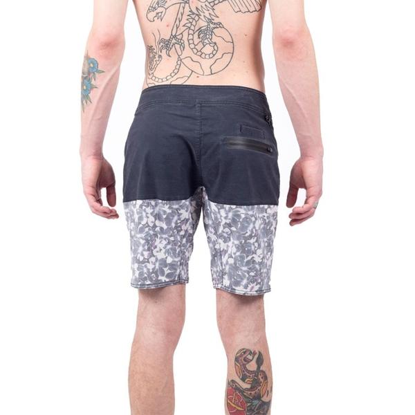 LIRA ORCHID BOARDSHORT 海灘褲 - 藍印花