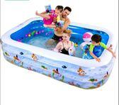 兒童游泳池充氣成人家用寶寶加厚超大號水池 魔法街