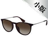 原廠公司貨-【Ray-Ban雷朋】4171F-865/13-54 亞洲加高鼻墊款太陽眼鏡(#琥珀框-棕色鏡面)