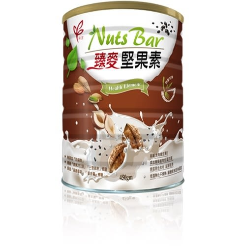 Nuts Bar 臻麥堅果素 (450g/罐)