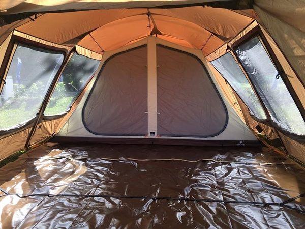 LOWDEN客製化地墊 SP671 2件式 防水耐磨地墊 (SP大地色) 六角款(含客廳區和寢室區)