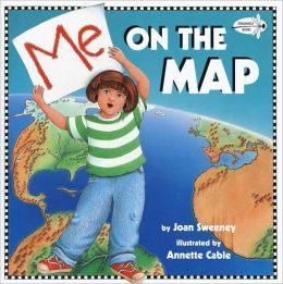 『繪本123‧吳敏蘭老師書單』-- ME ON THE MAP /英文繪本