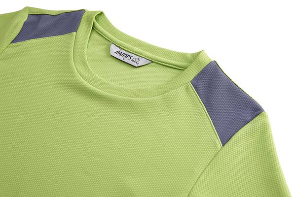 瑞多仕RATOPS 女款ThermoLite圓領排汗衣 檸檬綠 DB5975 吸濕排汗 中層衣 薄長袖 T恤 OUTDOOR NICE